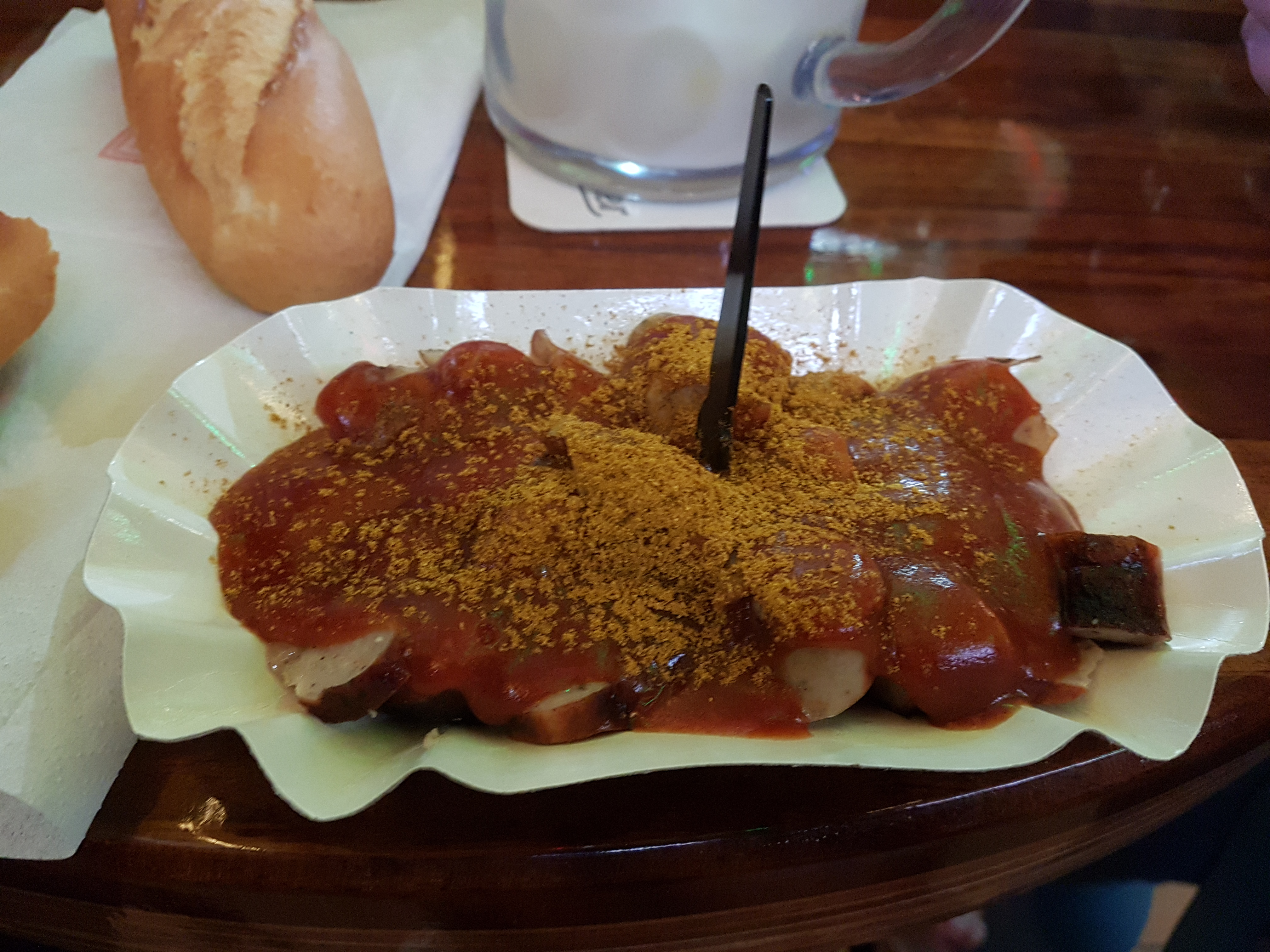 Holz • 2019-03-22 • Currywurst