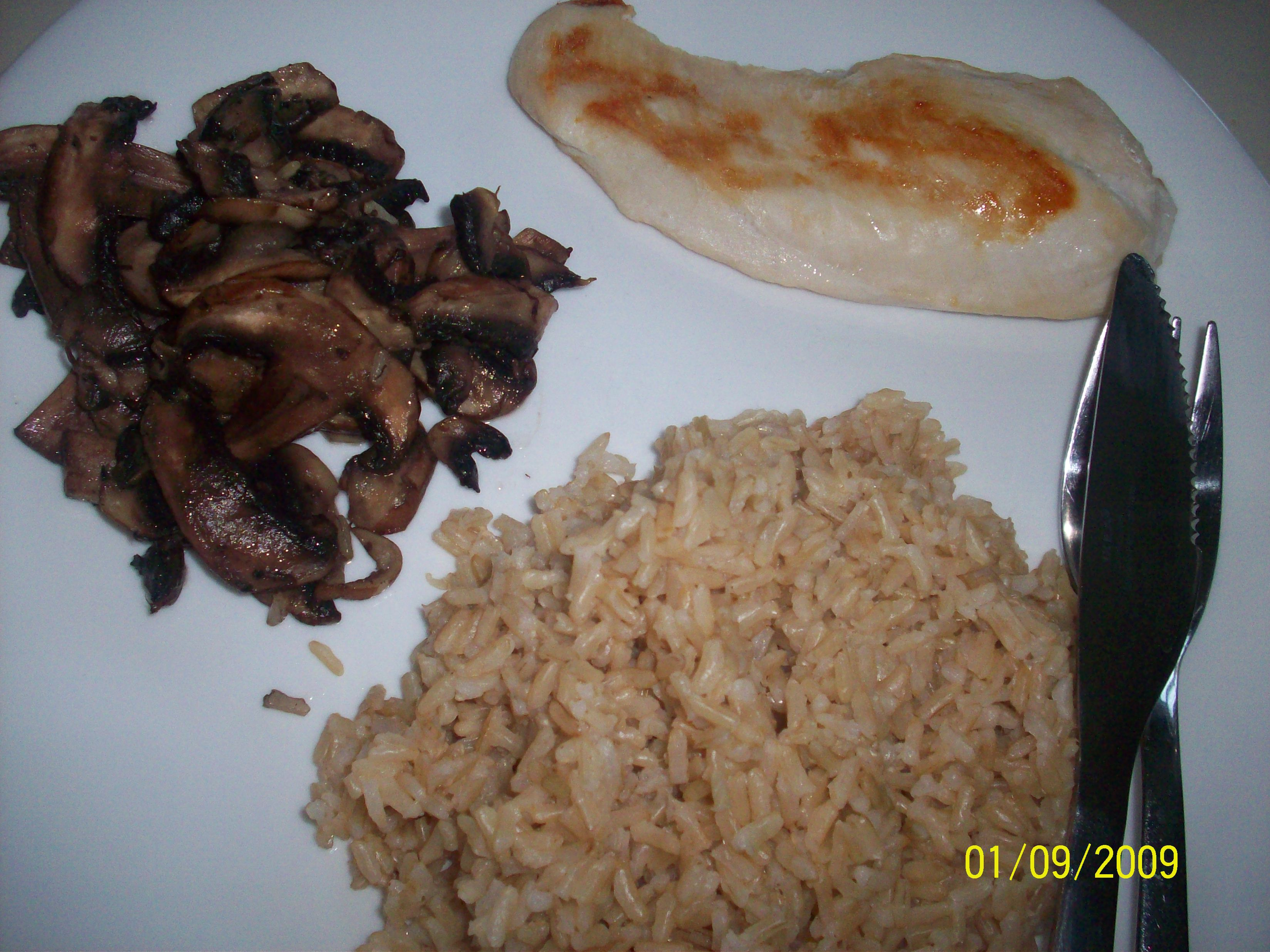 cutie • 2009-09-01 • Chicken, Rice and Mushroom