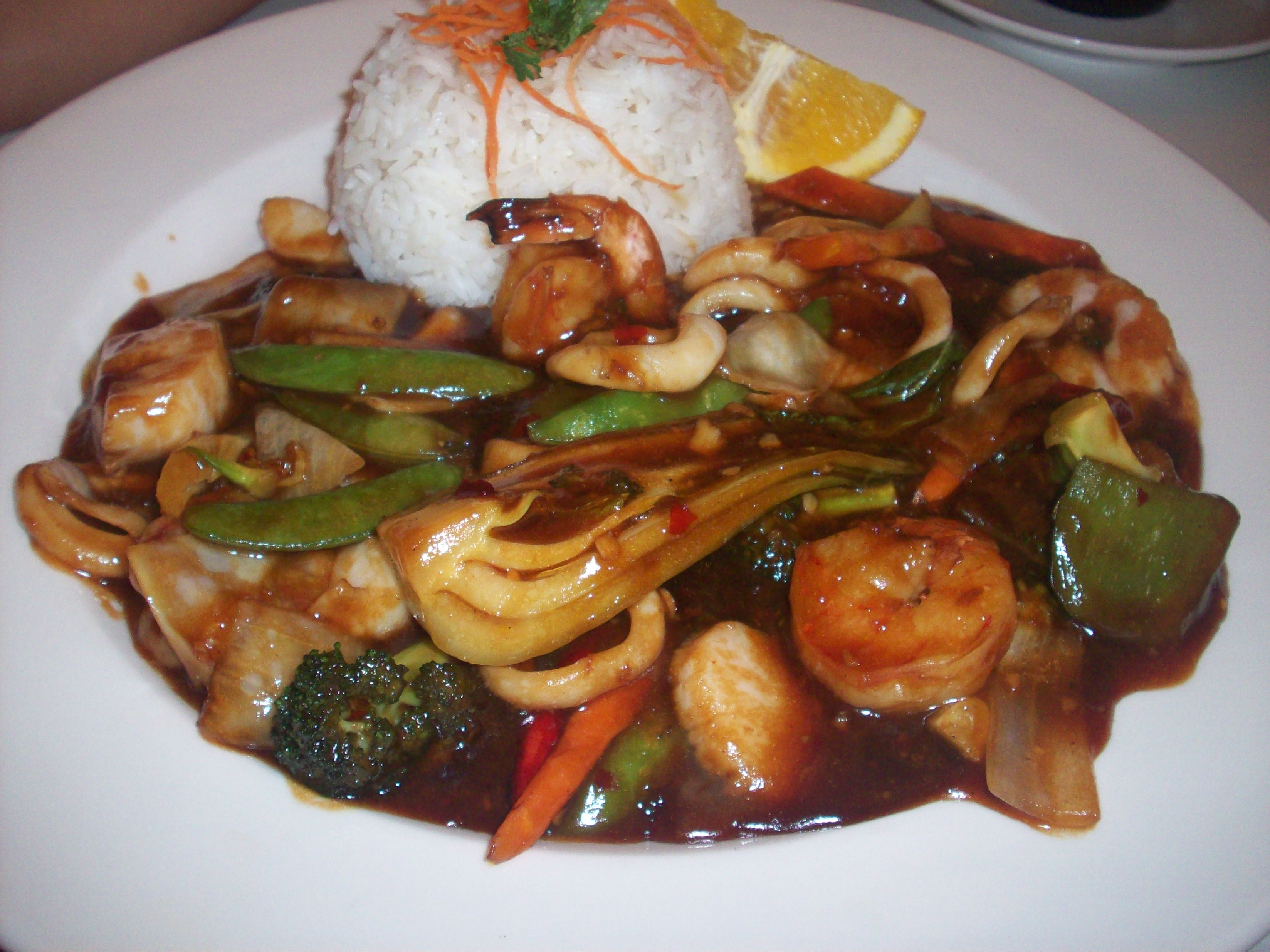 cutie • 2010-09-19 • Seafood in Sauteed Black Bean Sauce