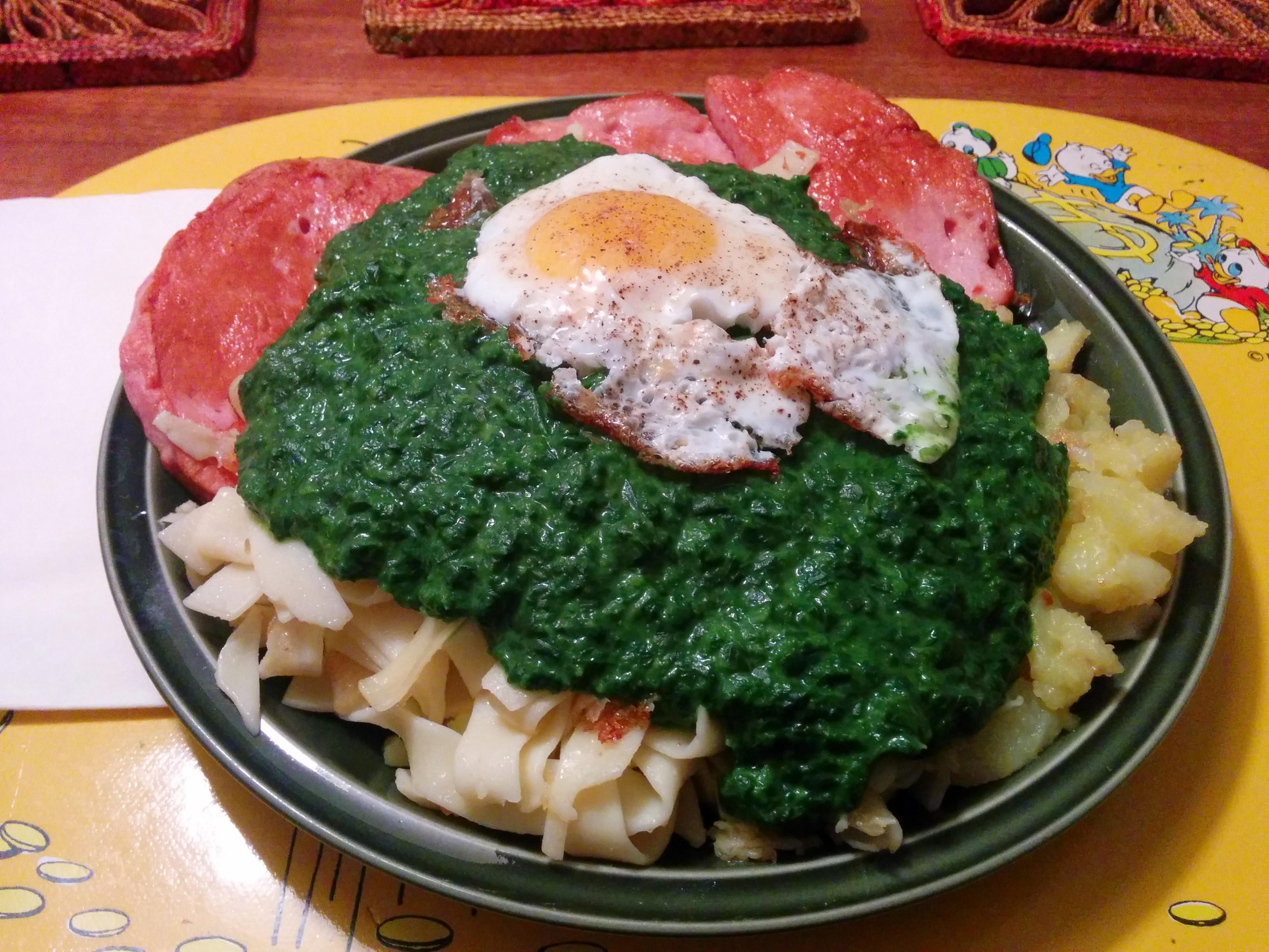 https://foodloader.net/nico_2014-05-14_fleischkaese-spinat-nudeln-bratkartoffeln-spiegelei.jpg