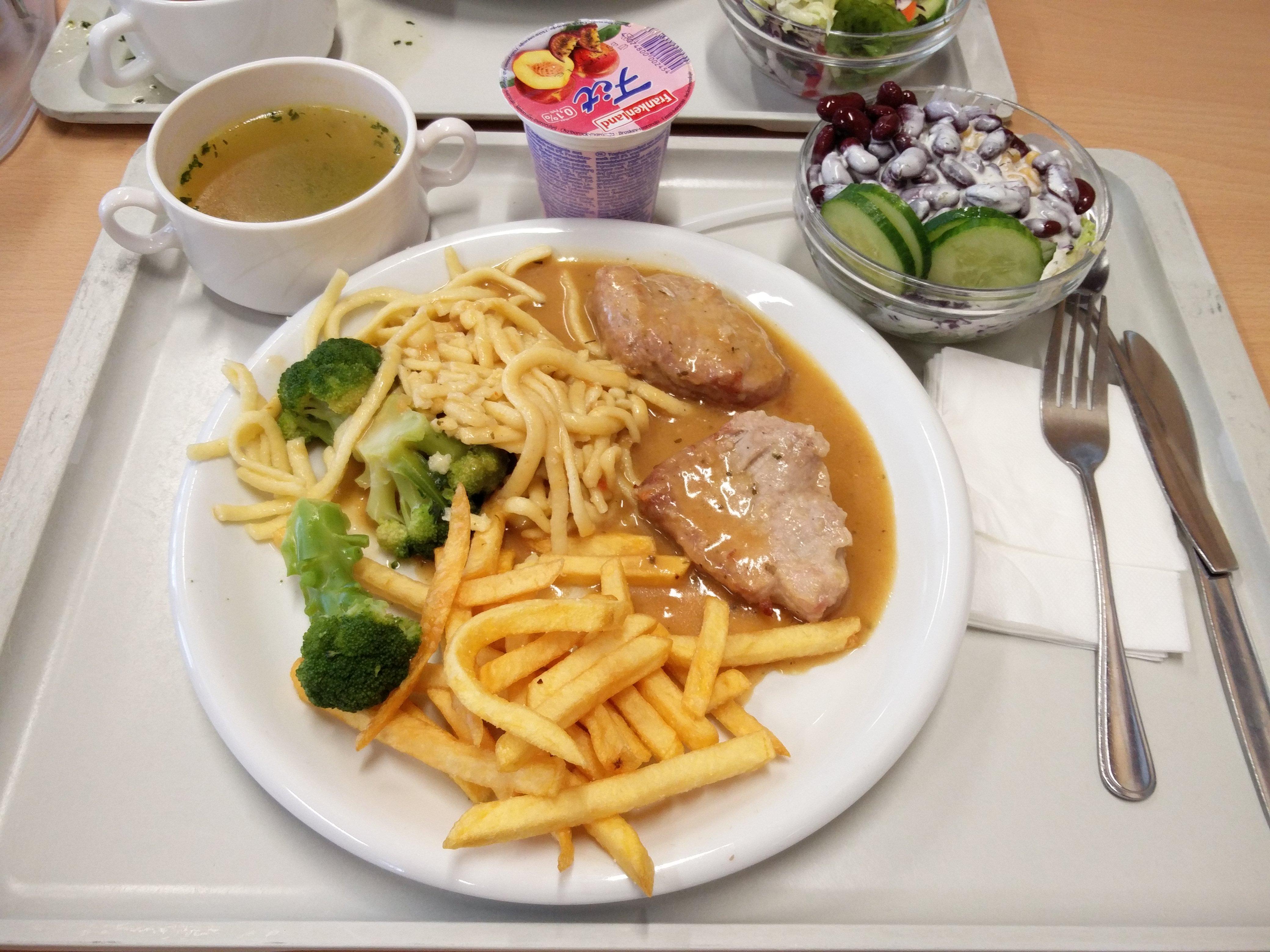 http://foodloader.net/nico_2016-06-23_schweinefilet-spaetzle-pommes-brokkoli-suppe-salat-joghurt.jpg