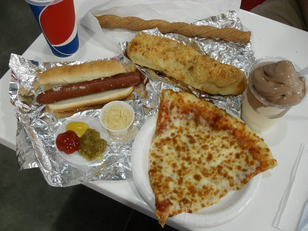 http://foodloader.net/sweetie_2013-09-14_costco__churro__polish_sausage__chicken_bake__ice_cream__cheese_pizza.jpg